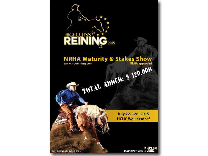 Plakat High Class Reining