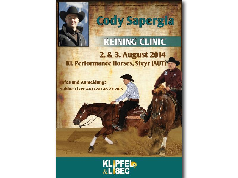 Ad – Cody Sapergia Clinic
