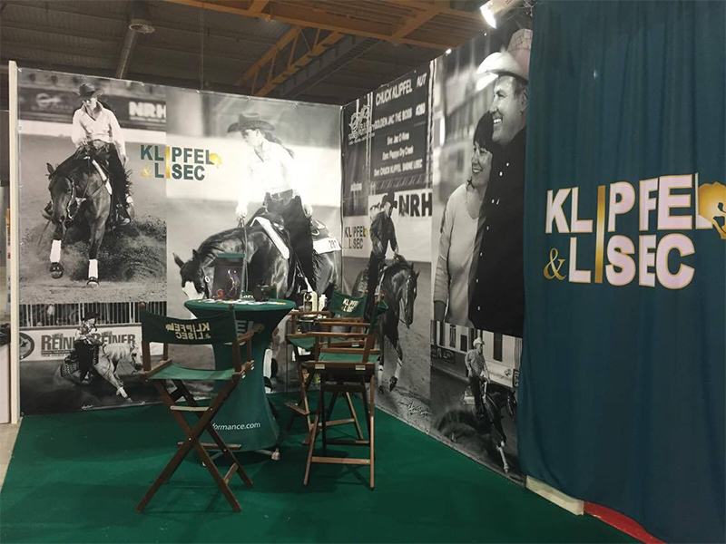 KL Performance Horses – Messestand NRHA/IRHA Futurity 2015