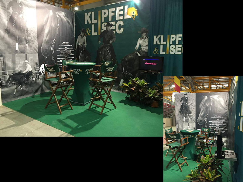 KL Performance Horses – Messestand NRHA/IRHA Derby 2016
