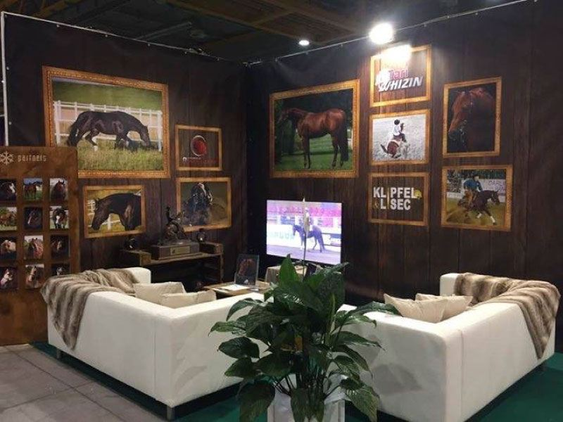KL Performance Horses – Messestand NRHA/IRHA Futurity 2016