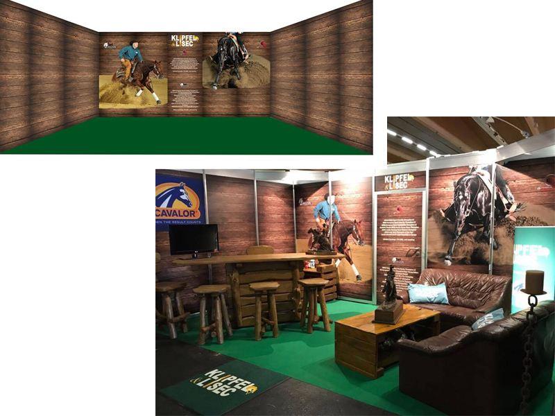 KL Performance Horses – Vom Entwurf zum fertigen Messestand- Pferd Wels 2017